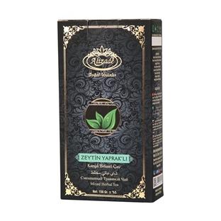صورة شاي الأعشاب المختلط مع أوراق الزيتون