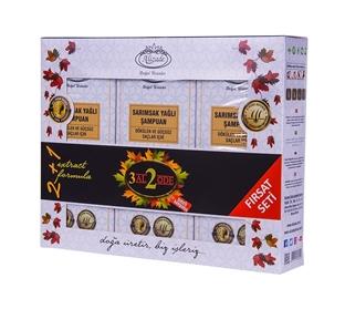 Изображение Набор шампуней с чесночным маслом