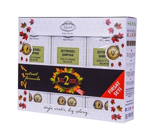 Изображение Набор шампуней с оливковым маслом
